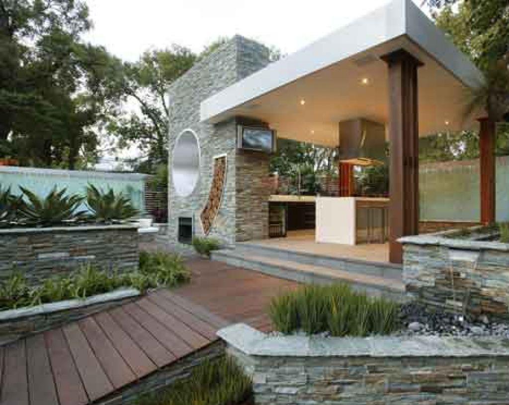 Ultra Modern Outdoor Kitchen – Modern Outdoor Kitchens