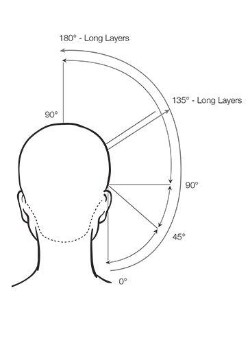 hair cutting diagram guide