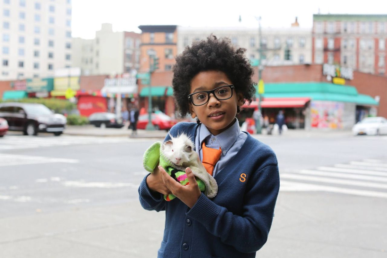 """Humans of New York: """"I had one friend, but he went to the next grade. To make a friend, you have to talk to them which can be very hard. Most of the time, when I try to talk to them, I fail. Everyone thinks I'm a geek. I want to be a lawyer when I grow up. But just a defense lawyer. Because I'm much better at defending people than I am at accusing people. But I'd only want to defend kind people. You can tell if someone is kind by their aura. Plus, I'm smart. I know so many math facts. Ask me…"""