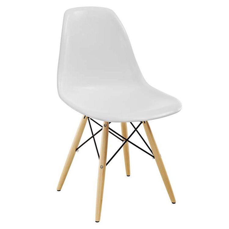 Cool Truss Side Chair White In 2019 Chairs Modern Dining Machost Co Dining Chair Design Ideas Machostcouk