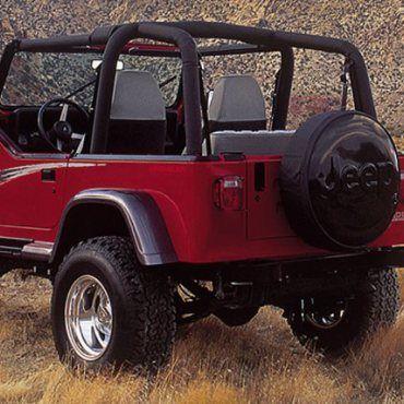 Xenon 8203 8204 87 95 Jeep Wrangler Yj 2 Piece Rear Fender Flares