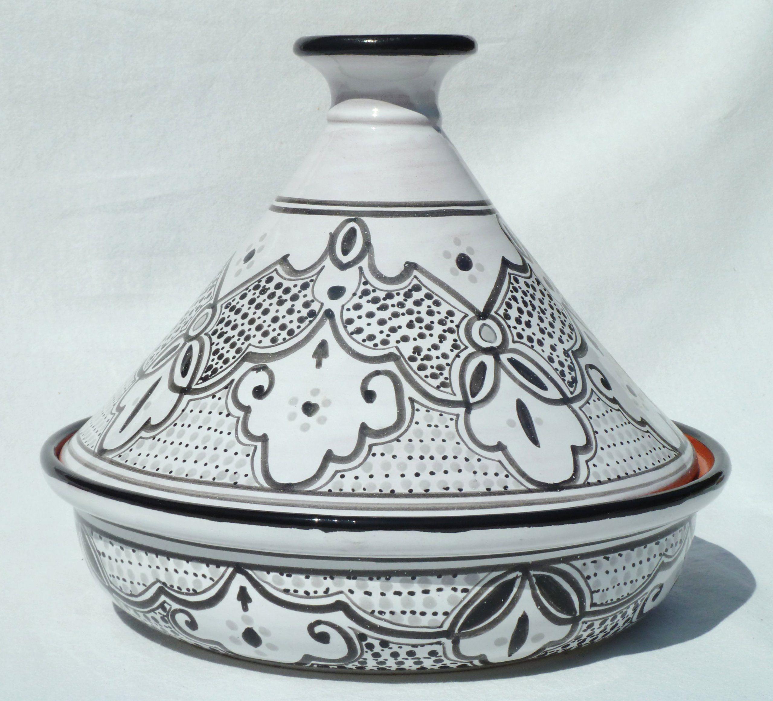 Le Souk Ceramique Cookable Tagine, Burgundy at Amazon.com