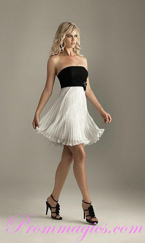 Short Flirty Evening Dresses