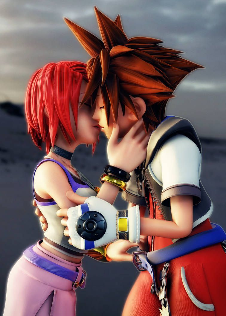 Kingdom Hearts girls except for Selphie by Addigni on
