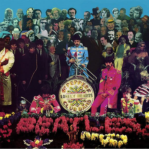 Cover Shoot For Sgt Pepper 5 The Beatles The Beatles