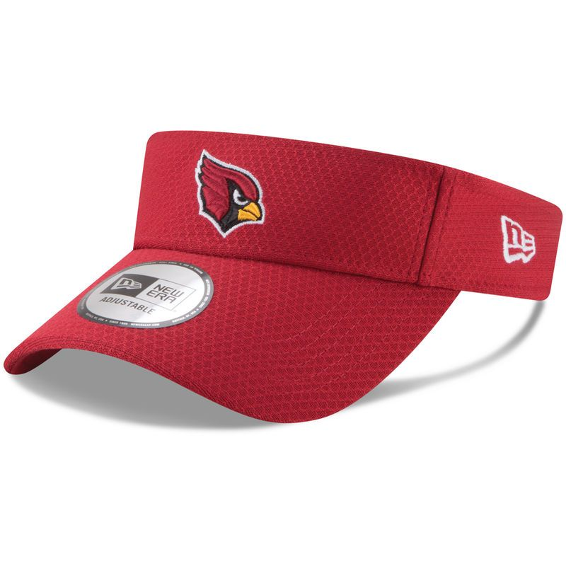 44ac229c5 Arizona Cardinals New Era 2017 Training Camp Official Visor ...