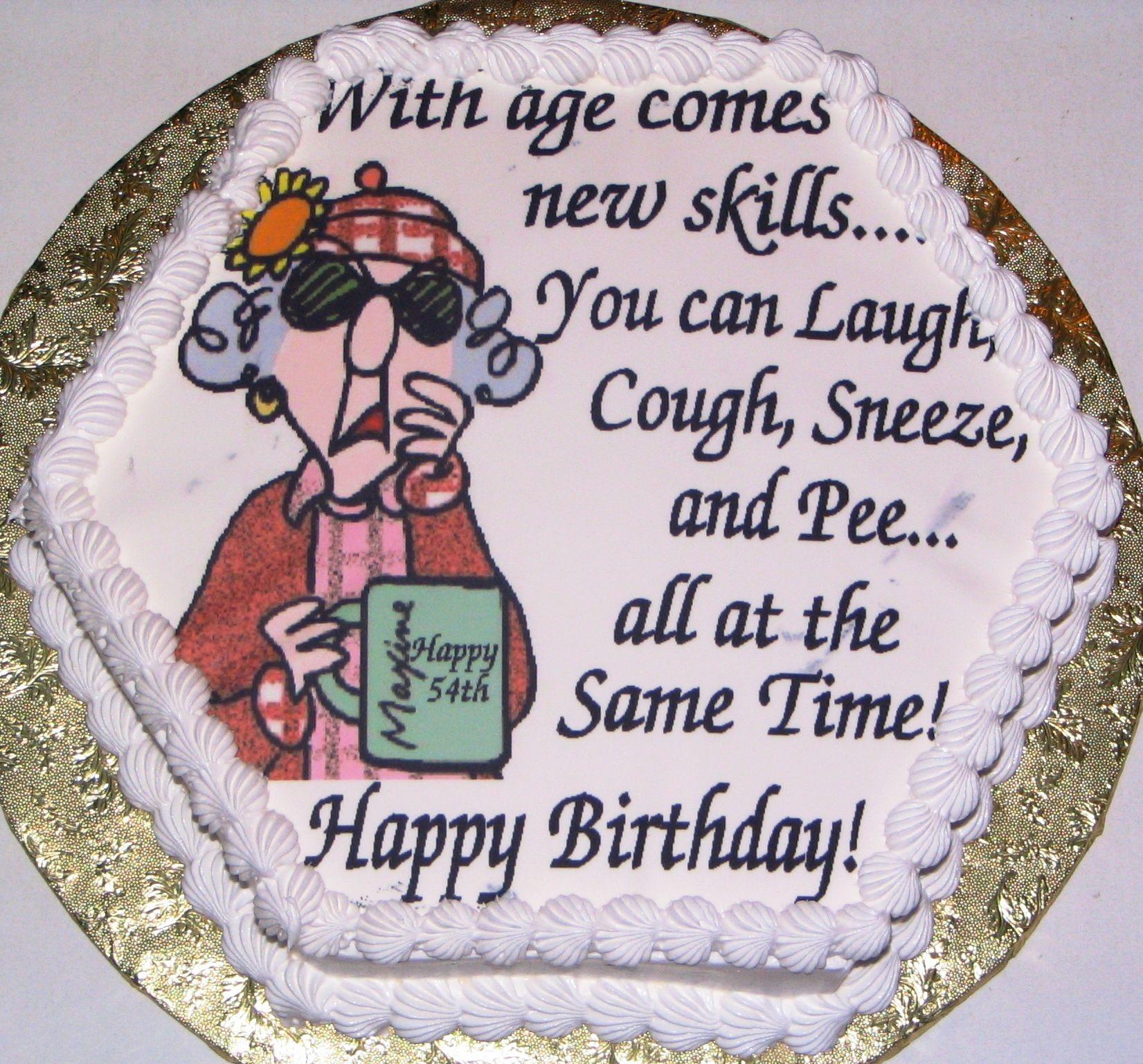 Maxine Birthday Cake Cakepins Com With Images Birthday