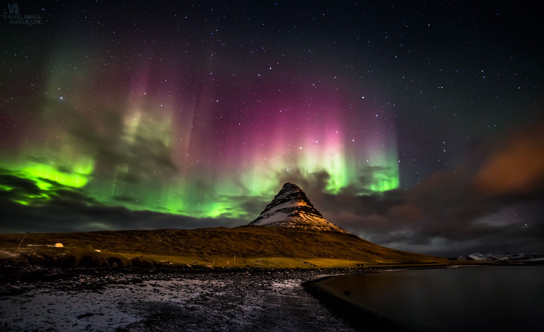 Icelands Alien Landscape Northern Lights Wallpaper Northern Lights Northern Lights Iceland