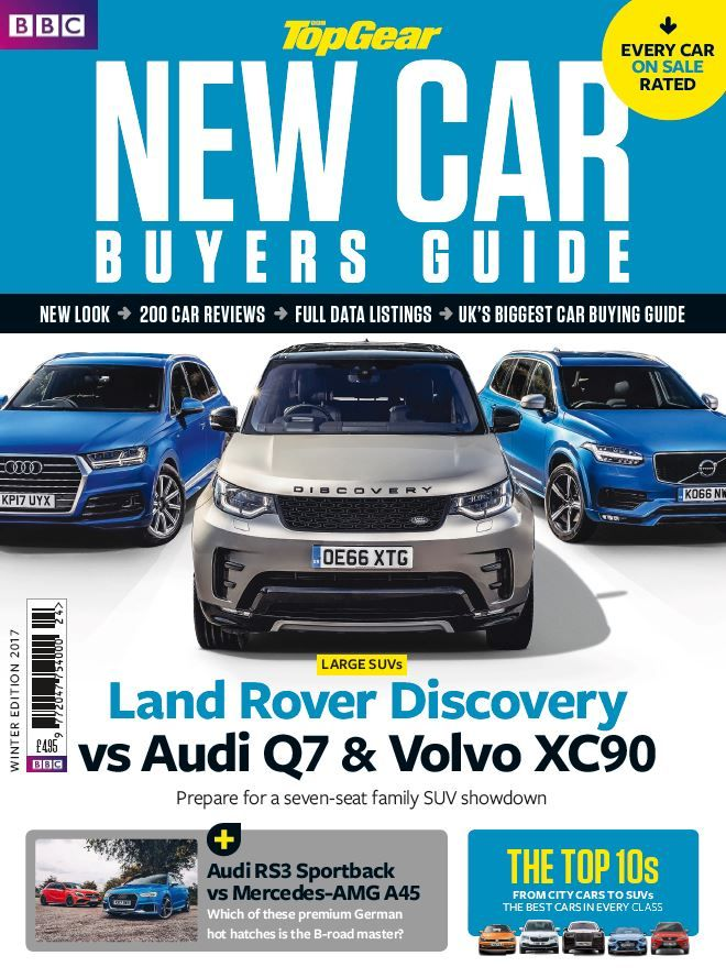 Bbc Top Gear  New Car Buyers Guide  Winter Edition   Top Gear
