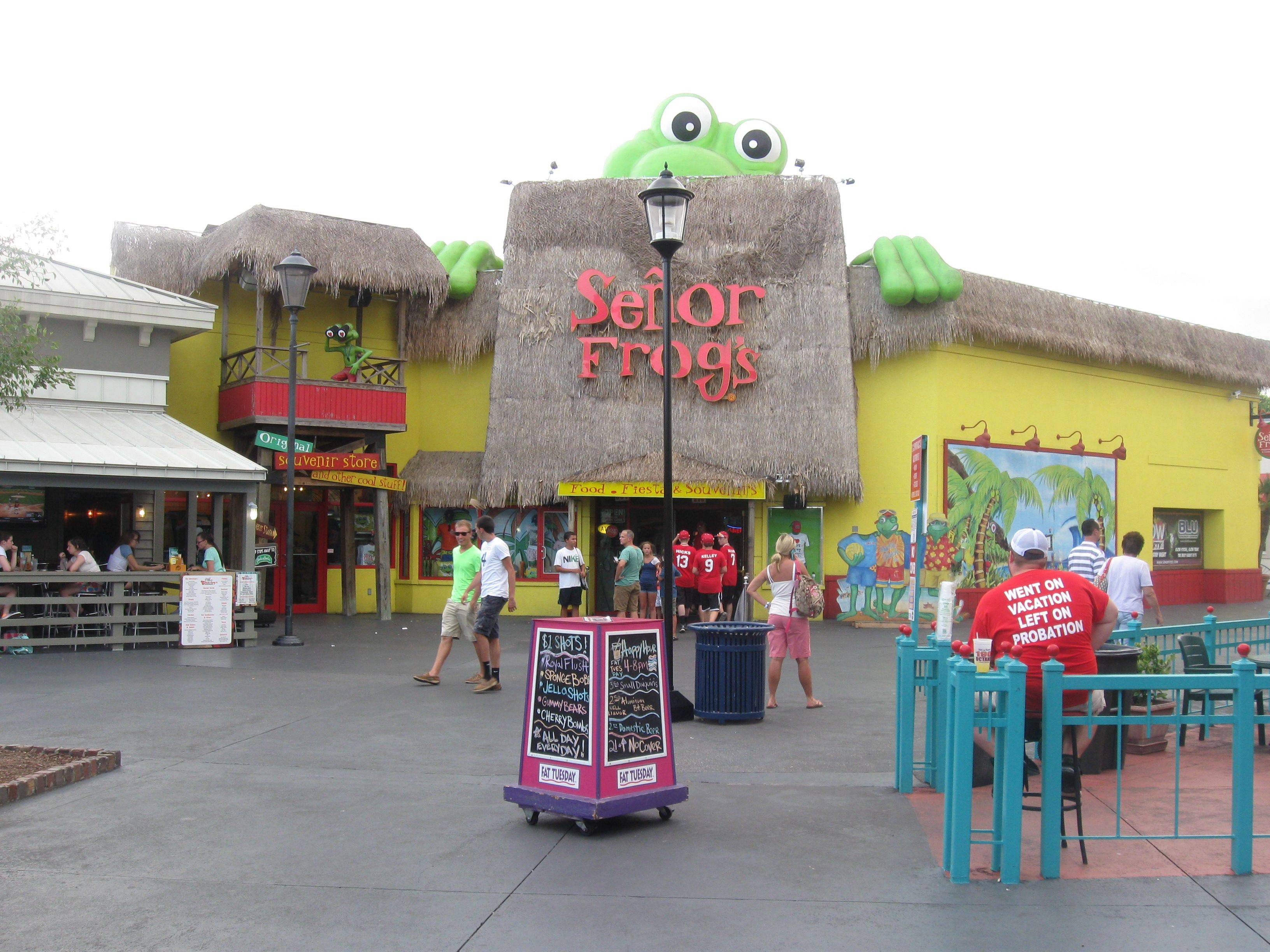 Senor Frogs Myrtle Beach Take Me There Pinterest Vacation And South Carolina