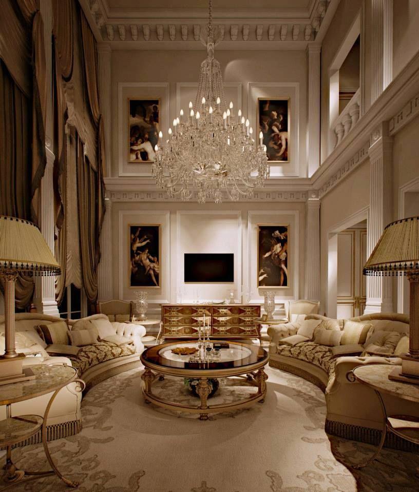 Classical styling pinterest wohnzimmer luxus luxus interieur - Innenausstattung wohnzimmer ...