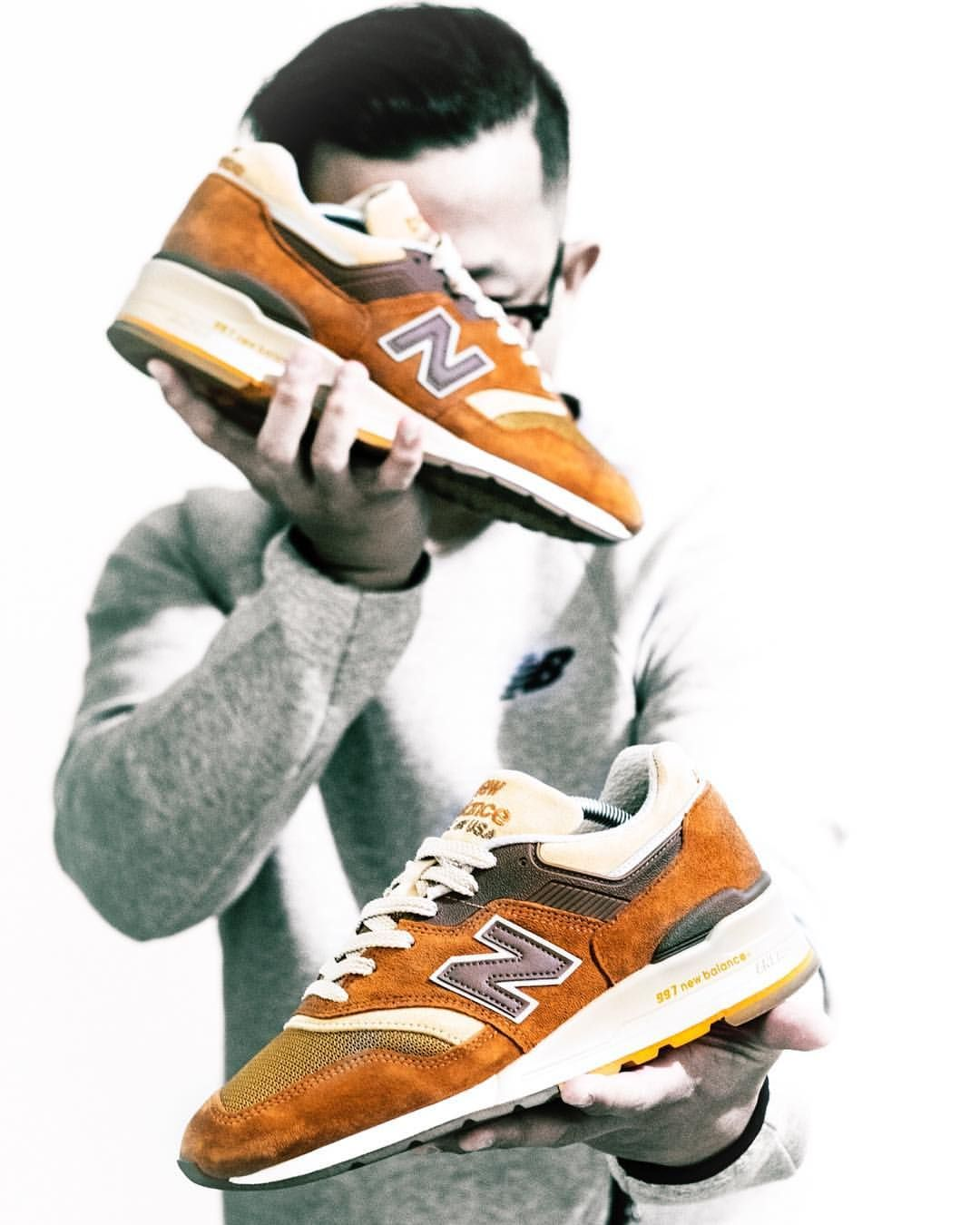 competitive price 6843e f105c J. Crew x New Balance 997 'Butterscotch' | Sneakers: New ...