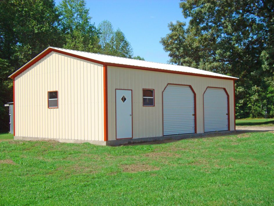 Steel garages living quarters for chances garage for Metal garage plans