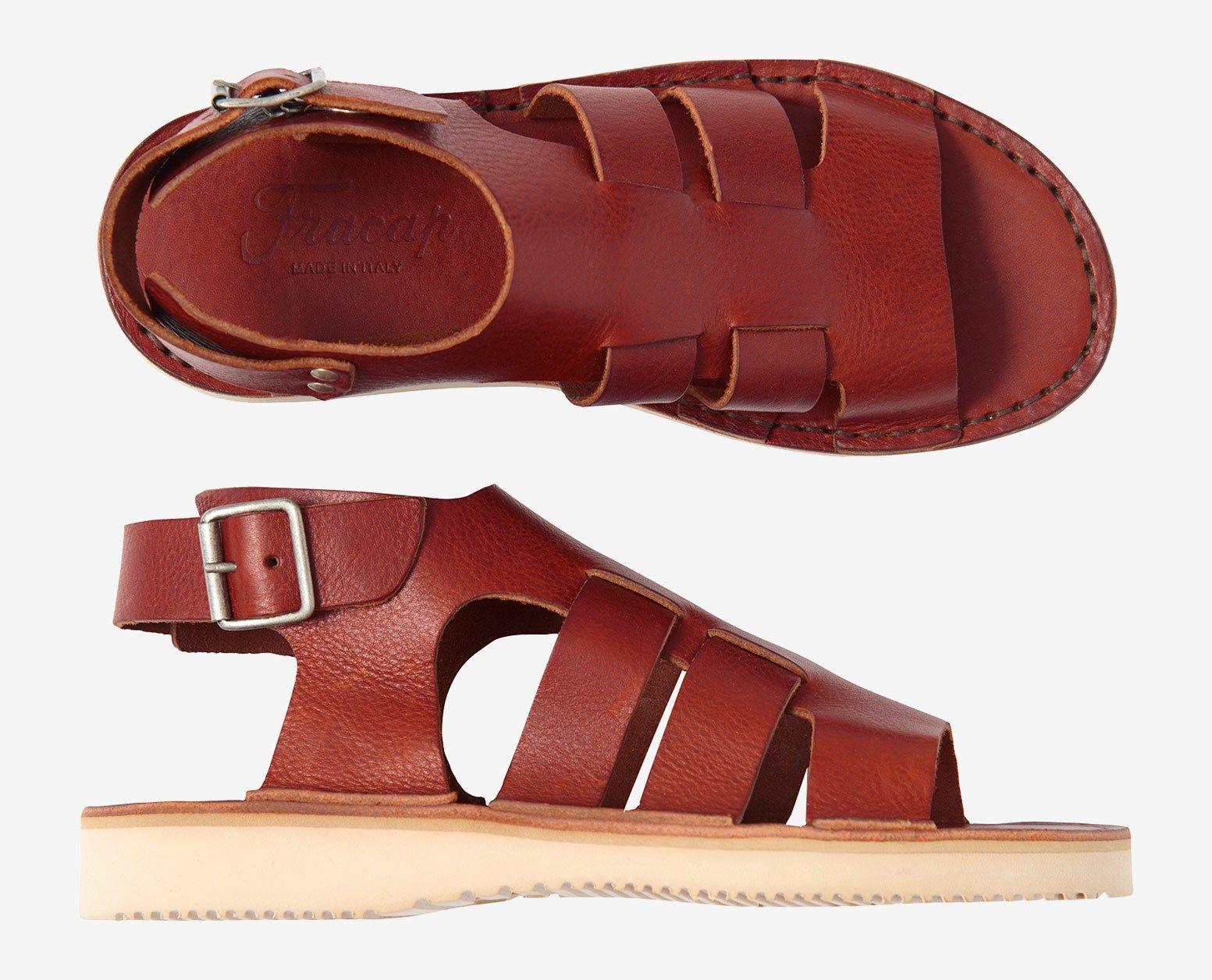 7d16460b3ba67 Fracap Gladiator Sandals in 2019