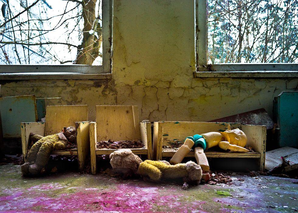 Igrushka – Toys of Pripyat and Chernobyl 25 Years Later  by Jan Smith