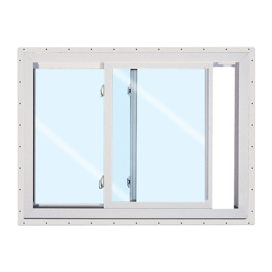 Reliabilt 151 Series 47 5 In X 35 5 In Left Operable Vinyl New Construction White Sliding Window Lowes Com Sliding Windows Slider Window Windows