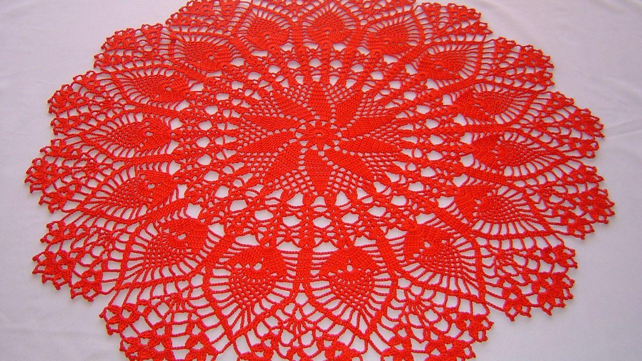 Centro de mesa a crochet tutorial completo DIY parte 1/4 - YouTube ...