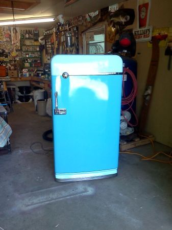 Restored 1953 vintage refrigerator on Craigslist! in 2019