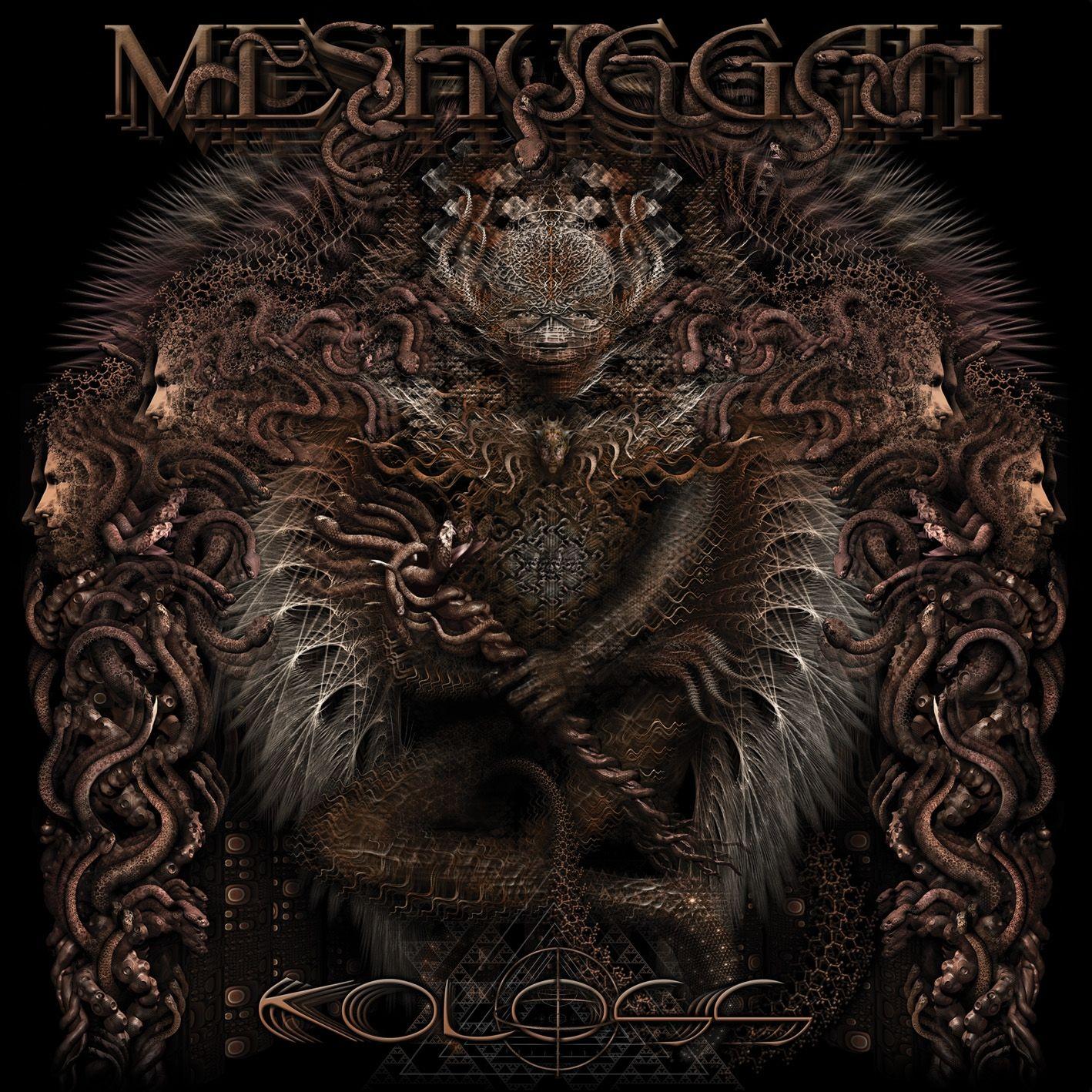 Meshuggah Koloss Metal Artwork Metal Albums Album Art