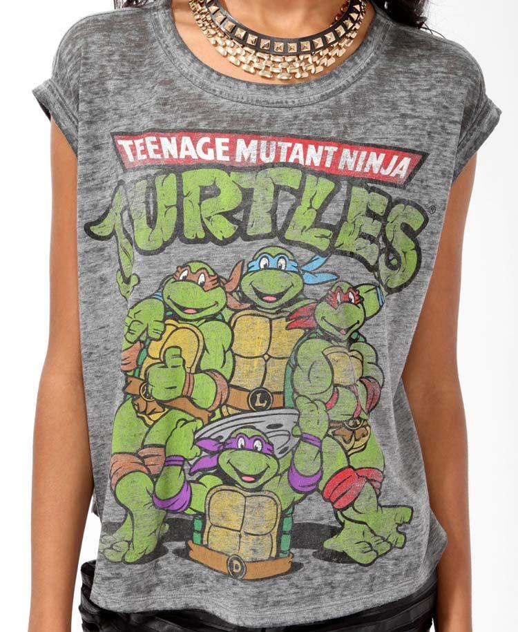 1b30f1527 Teenage Mutant Ninja Turtles | S T Y L E ♡ | Teenage mutant ninja ...
