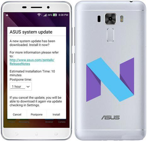 Asus Zenfone 3 Laser ZC551KL Nougat OTA Update | The Tech US