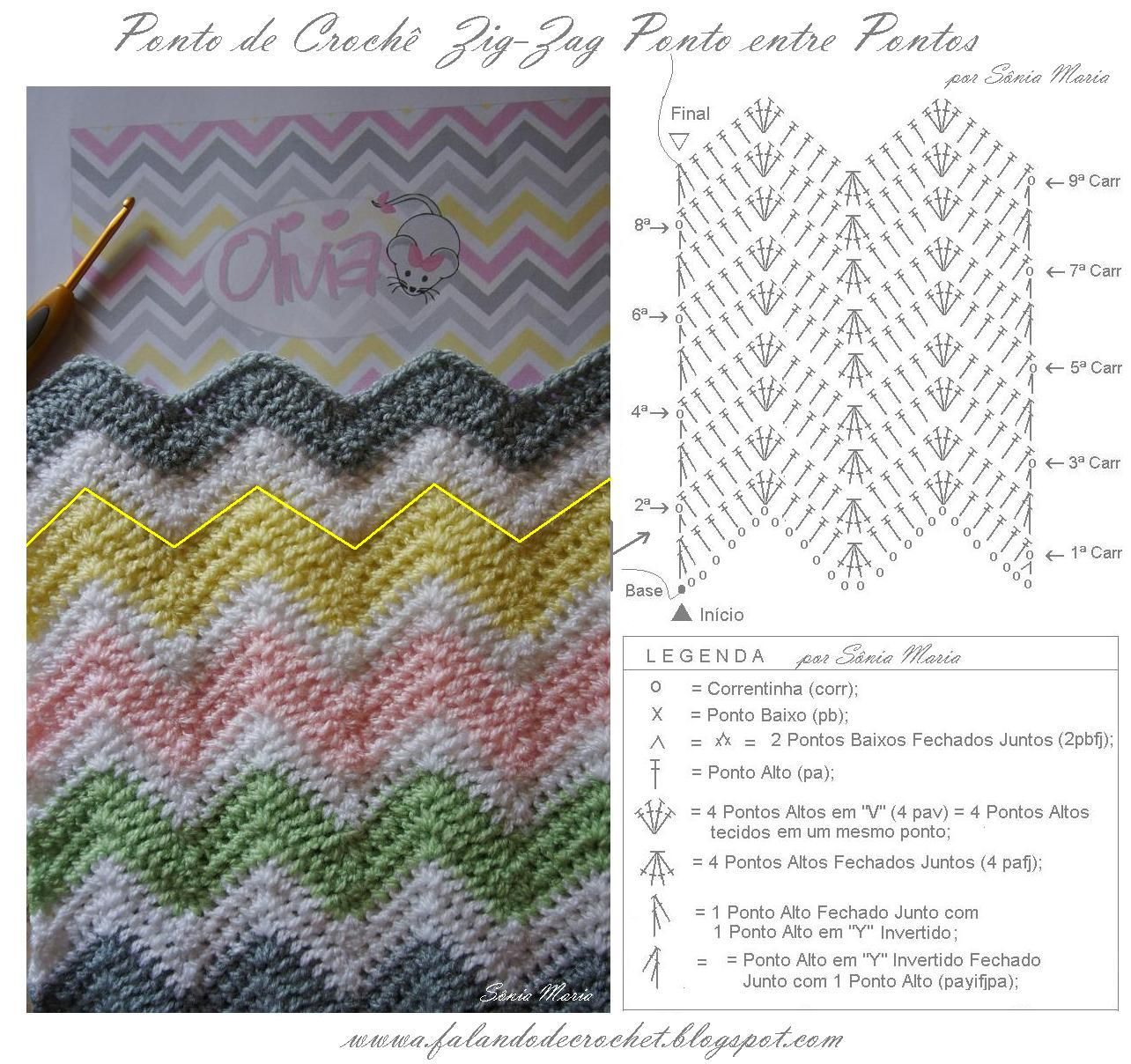 Pin by Janete Gutierrez on tejido | Pinterest | Crochet, Knitting ...