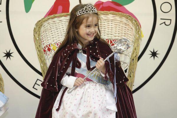 Reina Nacional Infantil del Capullo 2014 - Fiesta Nacional de la Flor :: Escobar Buenos Aires Argentina