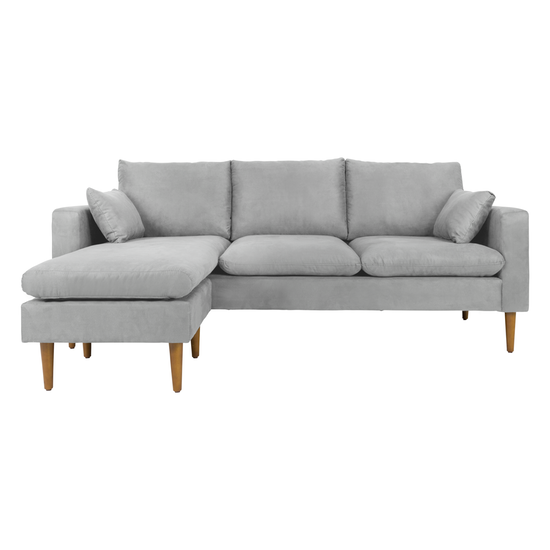 Estelle Alicia L Shape Sofa Light Grey Slate Sofa L Shaped Sofa Sofa