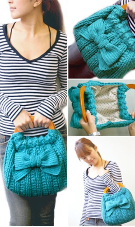 Ribbon Accent Bag « The Yarn Box