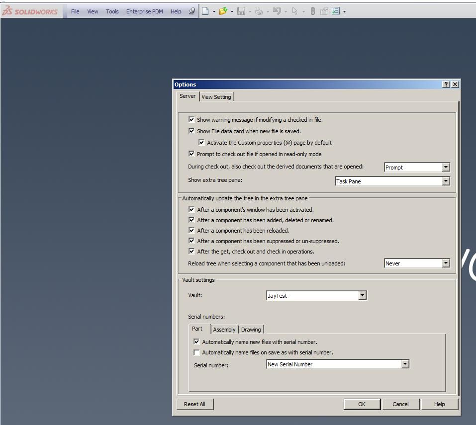 EPDM Options CAPUniversity SOLIDWORKS  D Printing Technical - Solidworks electrical schematic serial number