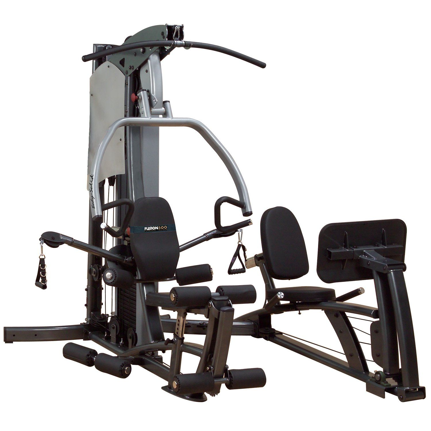 Body solid fusion f500flp home gym with leg press310 lb