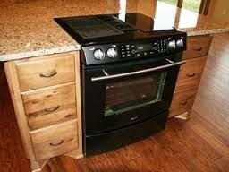 Kitchen Island With Slide In Stove slide in range in island - google search | corey | pinterest