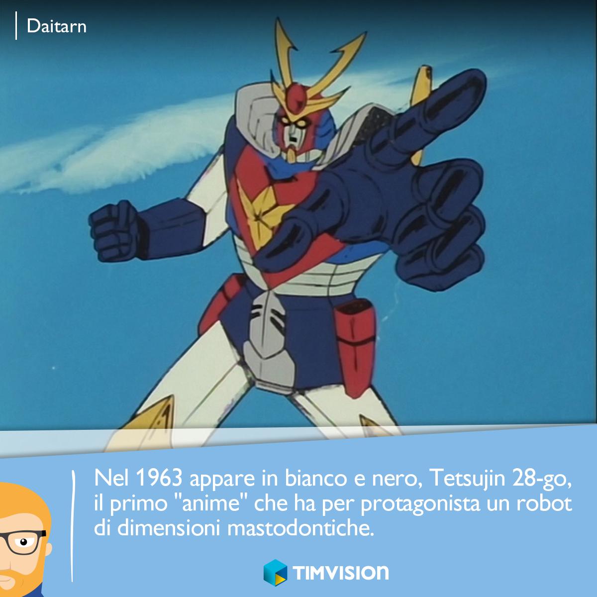 Il #nerd felice sa che su #TIMvision c'è #Daitarn e i #Digimon sono in arrivo!  http://tim.social/anime