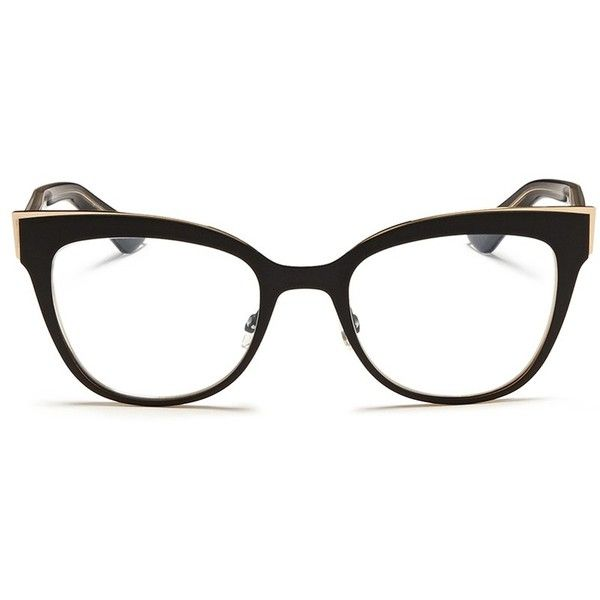 63cdd98454 Dior Matte coating contrast temple acetate optical glasses ( 420) ❤ liked  on Polyvore featuring accessories