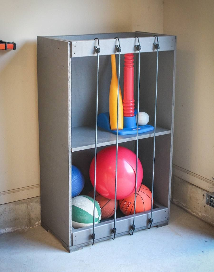 40 rangements à faire soi-même pour chasser le désordre chez vous !   Rangement garage ...
