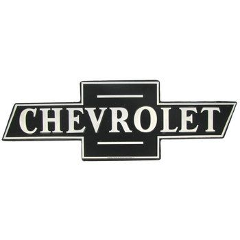Chevy Bowtie Since 1911 General Motors Chevrolet ONLY Garage Tin Metal Sign