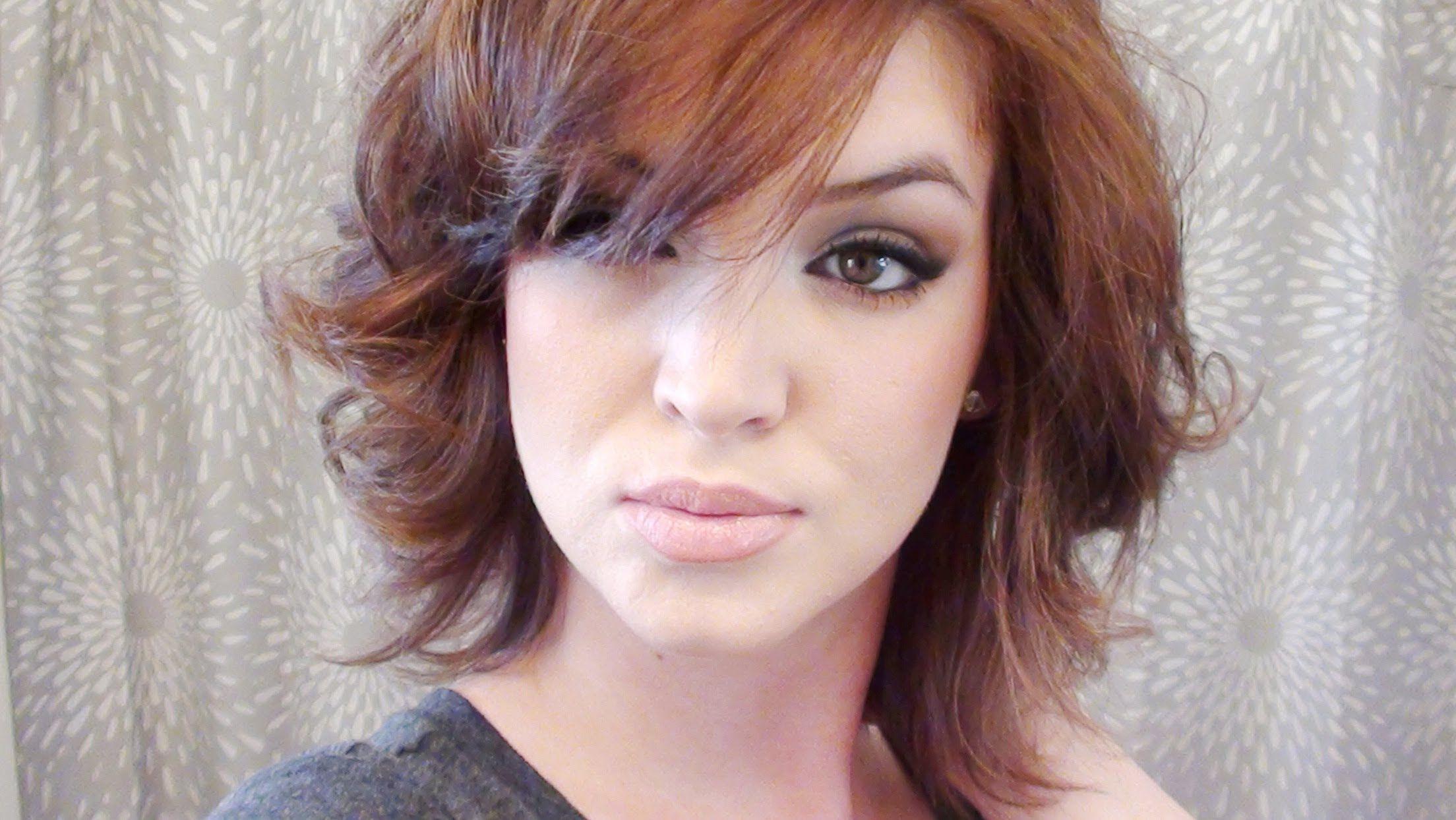 Perfect Curls For Short Hair Tutorial