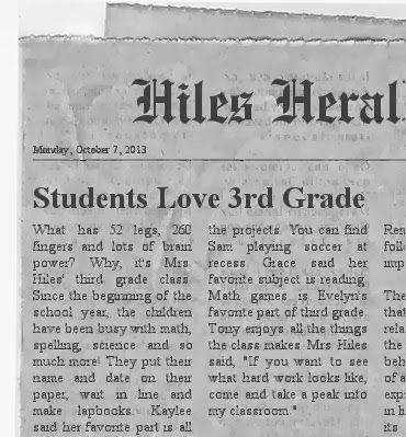 Creating a Classroom Newspaper