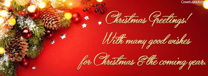 Christmas greetings with many good wishes facebook cover coverlayout christmas greetings with many good wishes facebook cover coverlayout m4hsunfo