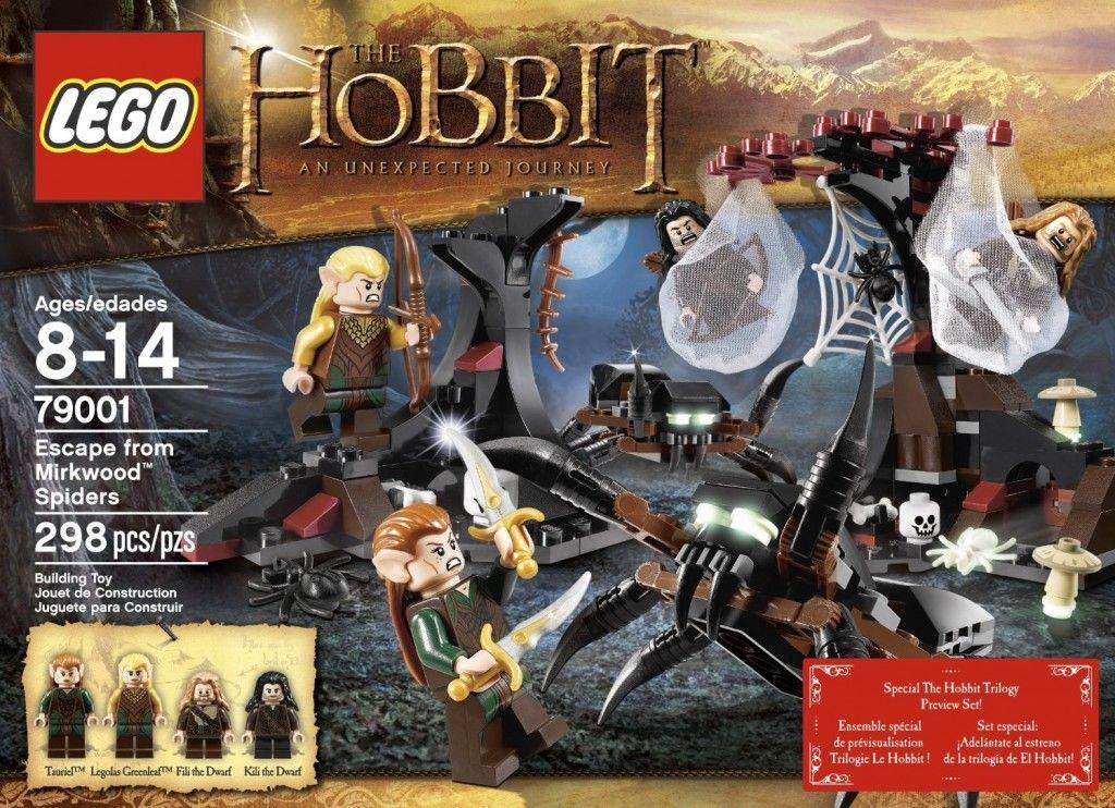 NEW LEGO Hobbit 79001 Escape from Mirkwood Spiders Kili the Dwarf Minifigure Fig