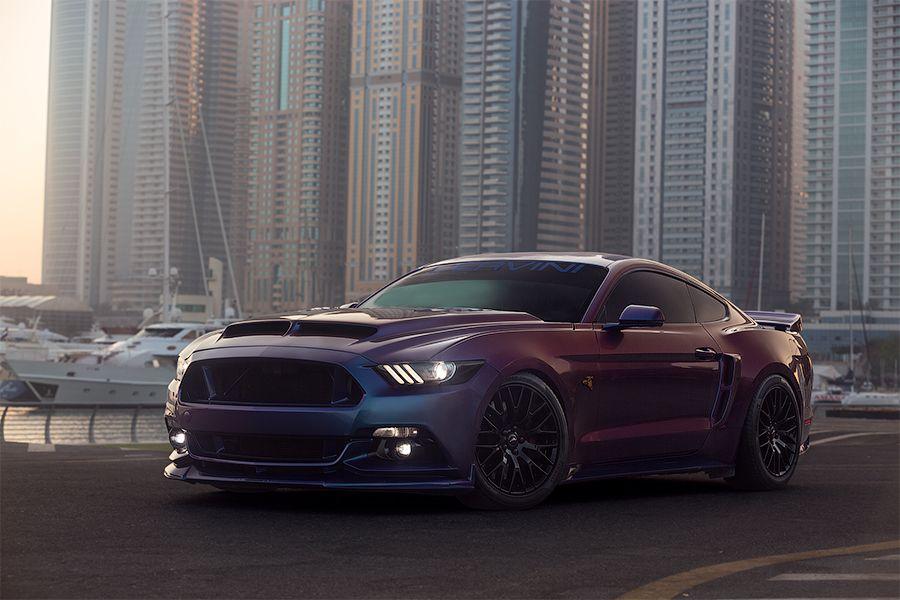 Car photographer Dubai. Ford Mustang, Tunned car, UAE in