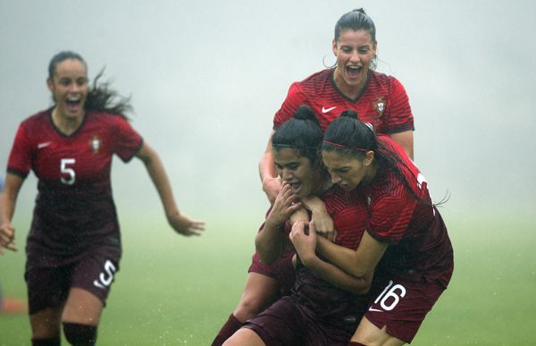 SPORTS And More: @WomensSoccer U19 @Euro qualify #Portugal -2- @Isr...