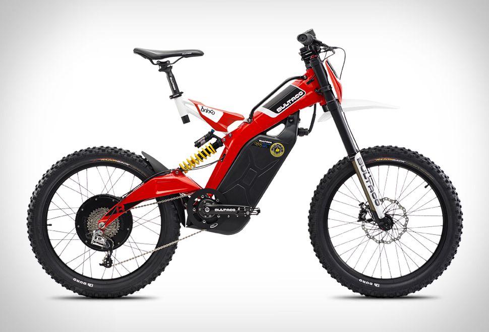 Bultaco Moto Bike Electric Mountain Bike Moto Bike Motorised Bike