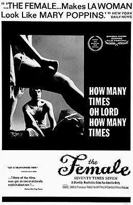 The Female: Seventy Times Seven - 1962 - Movie Poster