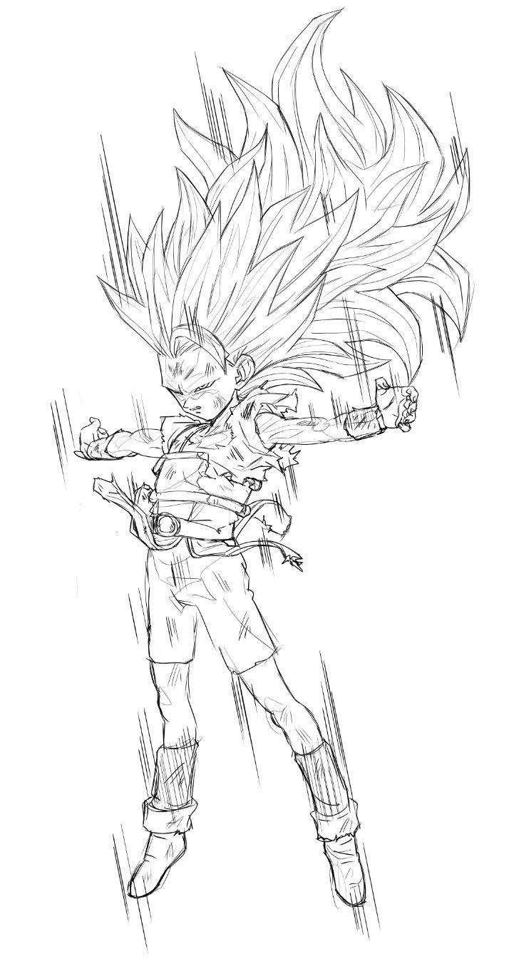 SSJ3 Cabba | Goku | Pinterest | Dragon ball, Dragons and Dbz