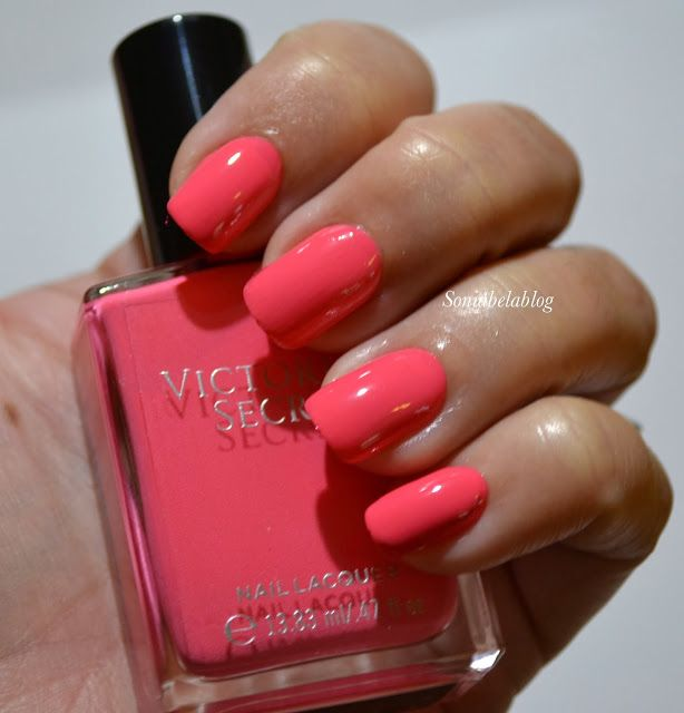 VICTORIA\'S SECRET - CORAL CRUSH - ESMALTE - NAIL POLISH - REVIEW ...