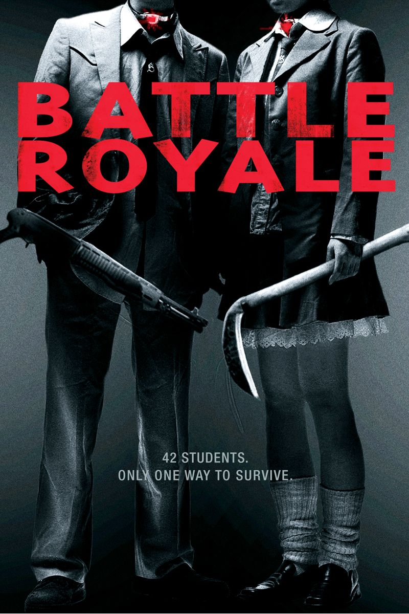 Battle Royale movie. 42 students. Only one way to survive. | Cinema ...
