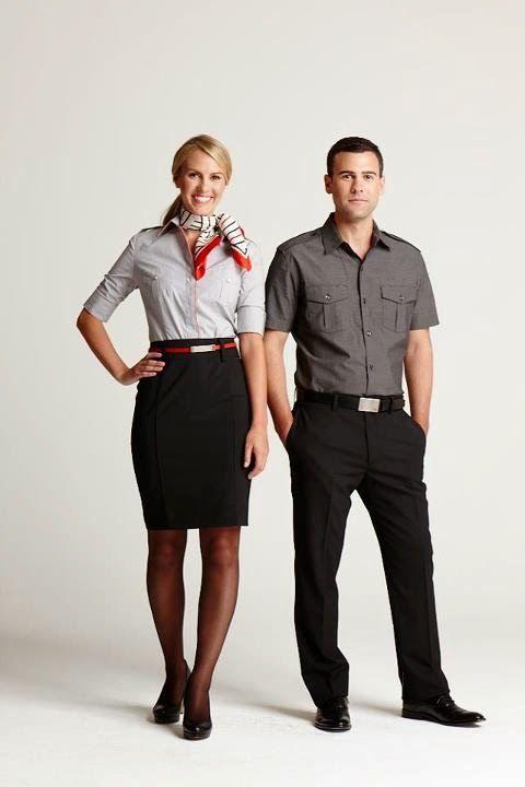 4d584f80674f06 Virgin America Uniforms by Banana Republic