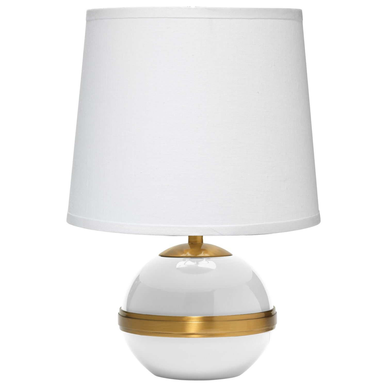 Jamie Young Stockholm White Accent Table Lamp Laylagrayce Table Lamp Lamp Linen Lamp Shades
