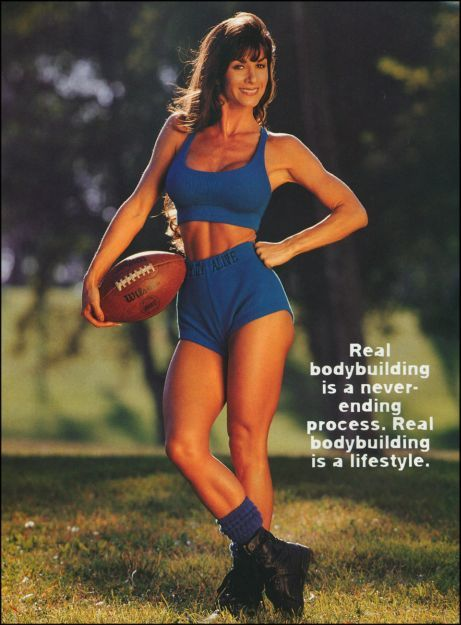 Female Fitness, Figure and Bodybuilder Competitors: Amy Lynn - 90s Fitness Model
